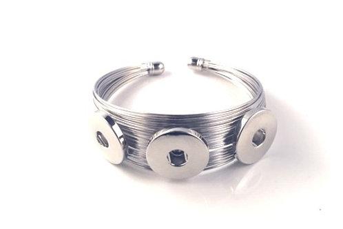 Wire Works Snaps Bracelet
