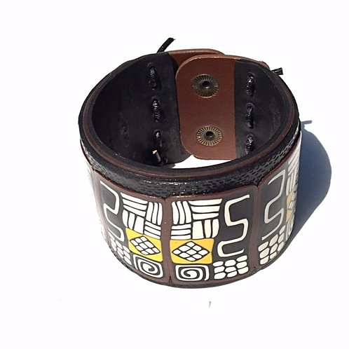 Culturally-inspired Snap Cuff