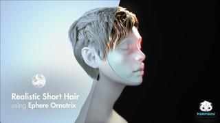 создание волос в 3d