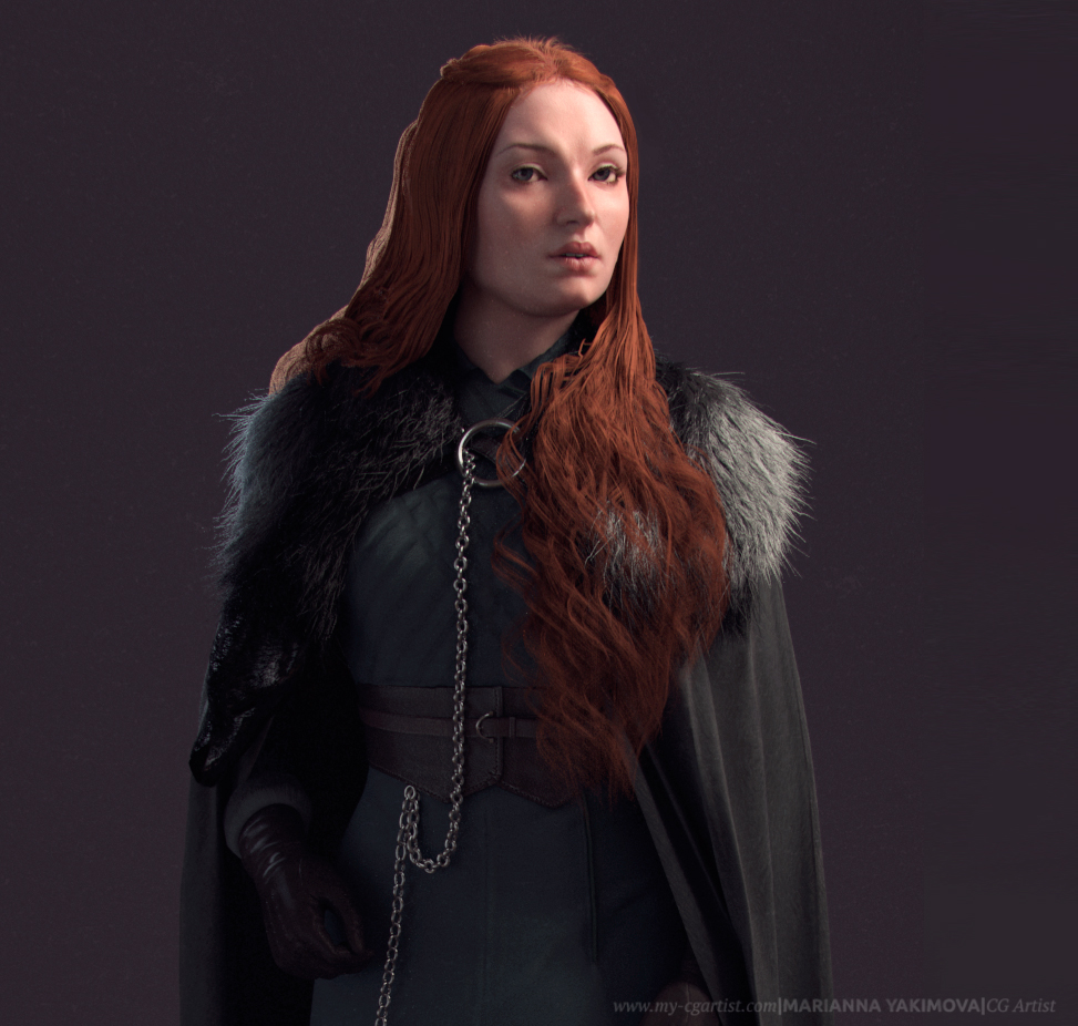 Game of Thrones. Sansa Stark