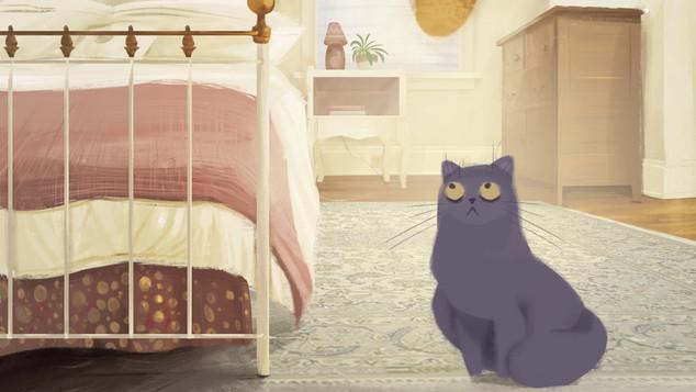 Pompidou cat