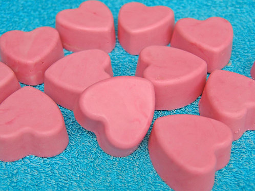 Small  Heart goat's milk soap / Mazās sirds ziepes