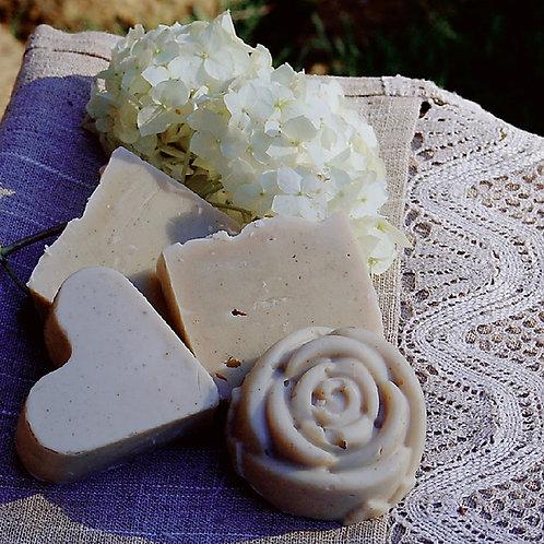 Olive oil goat milk soap unscented