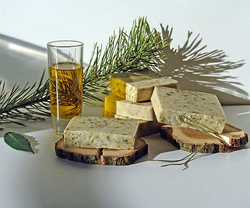 Spruce goat's milk soap