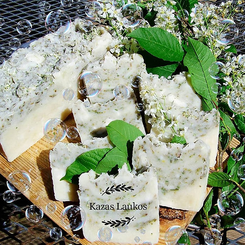 Chokecherry soap / Ievas ziedu ziepes