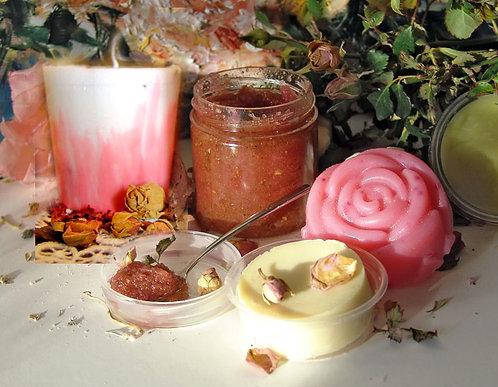 """""""Rožu dārza prieks"""" komplekts  - """"Rose garden"""" gift set"""