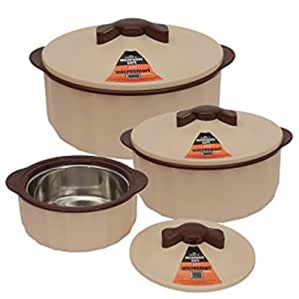 Jaypee Plus Casserole Micro Smart Set of 3 Brown