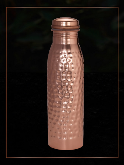 Jaypee Plus Copper Water Bottle Vintage 1000 Hammered 920 ML