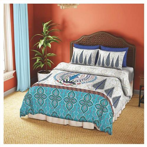 Spaces Premium Collection Double Size Bedsheet