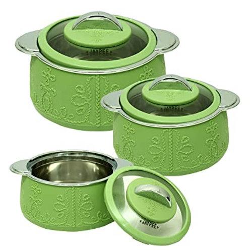 Jaypee Plus Casserole Fabrene Set of 3 Green