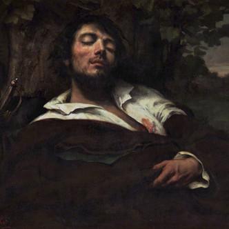 Courbet romantique, Autoportrait de l'homme blessé