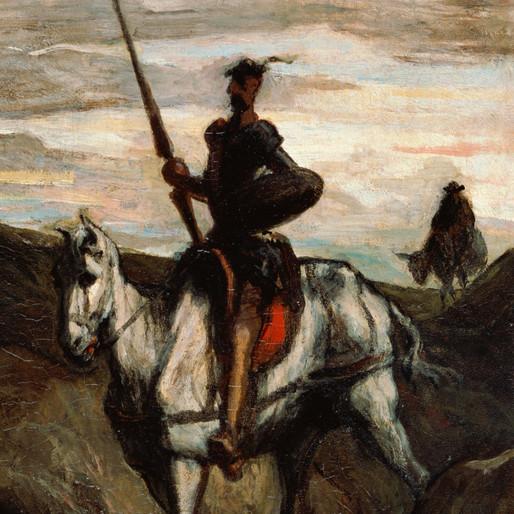 Le chevalier du monde moderne : Don Quichotte par Daumier (1/2)