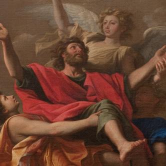 Le Ravissement de Saint Paul, Nicolas Poussin, 1649-1650, Musée du Louvre