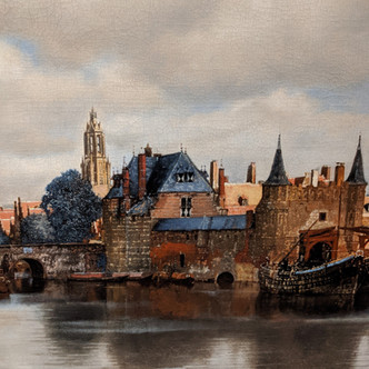 A la recherche d'un temps suspendu, la Vue de Delft de Vermeer