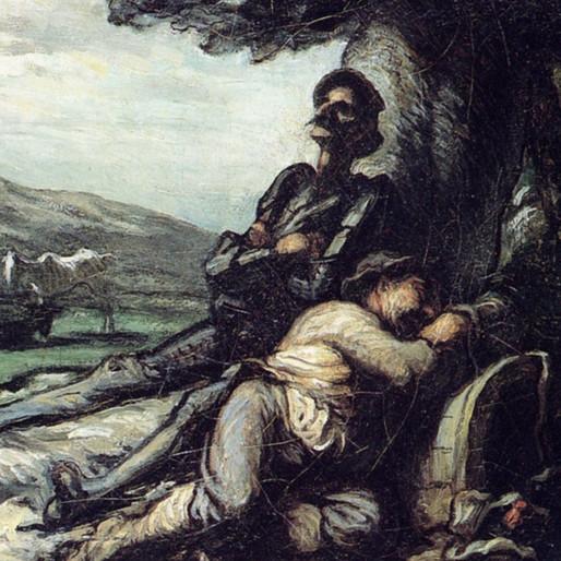 Le chevalier du monde moderne : Don Quichotte par Daumier (2/2)