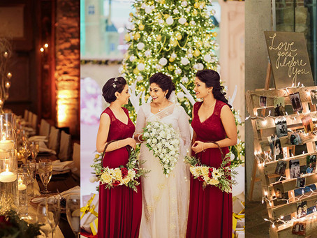 SEASONAL WEDDING TRENDS -- JINGLE ALL THE WAY!