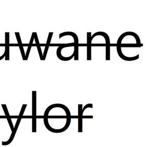 Duwane Taylor