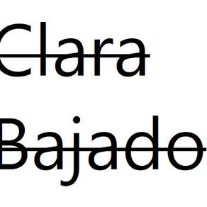 Clara Bajado