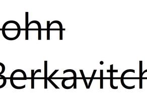 John Berkavitch