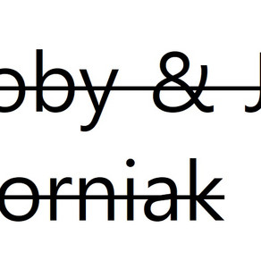Jo & Toby Gorniak MBE