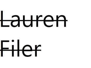 Lauren Filer