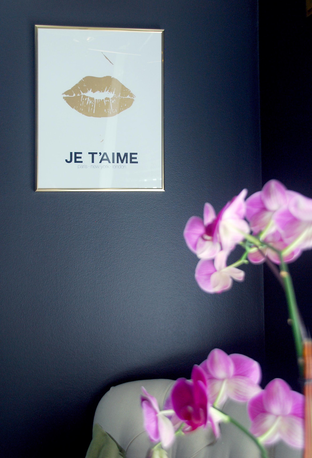 made by girl je t'aime print