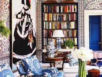 BLUE AND WHITE: TRENDY & TIMELESS