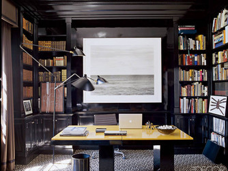 DESIGN TREND: BLACK WALLS