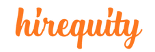 Hirequity Temp Logo Orange - No Tagline.