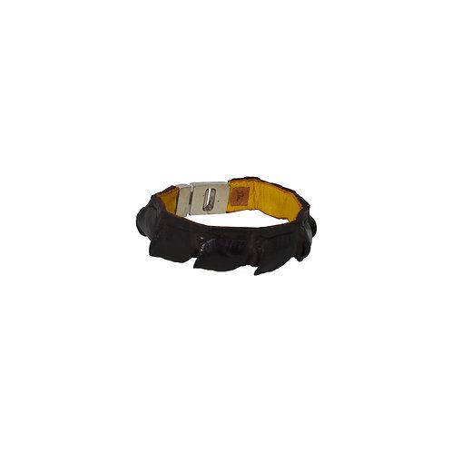 Kroko armband (halve staart)