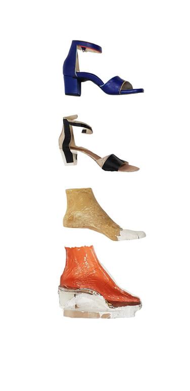 Semi-orthopedische schoenen handgemaakt