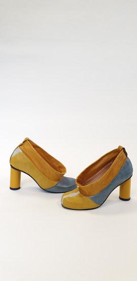 handgemaakte schoenen met epoxy hak