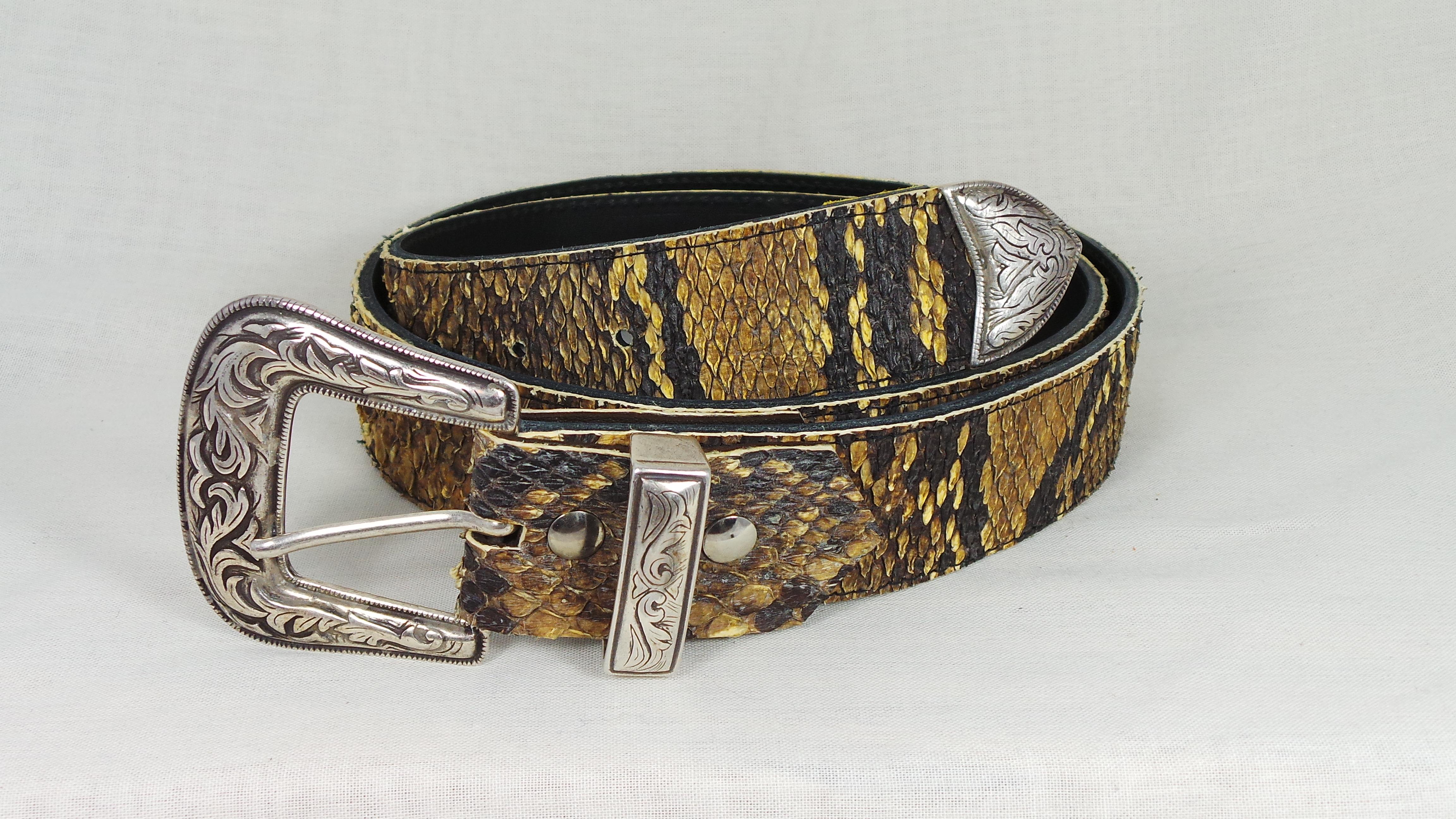 Western python riem