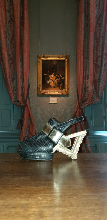 Handgemaakte schoen
