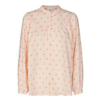 Co'courture Cherry shirt Neon Pink