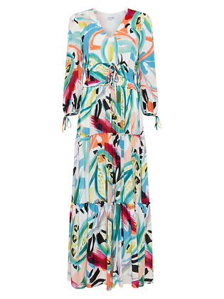 Great Plains Tropical Print Maxi Dress