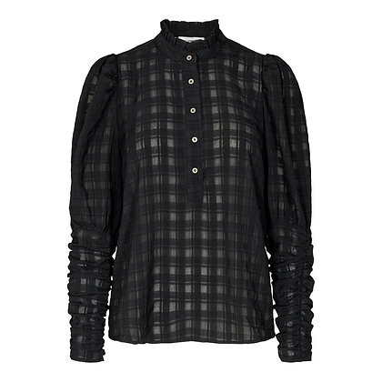 Co'couture Black Rowland Chequered Shirt