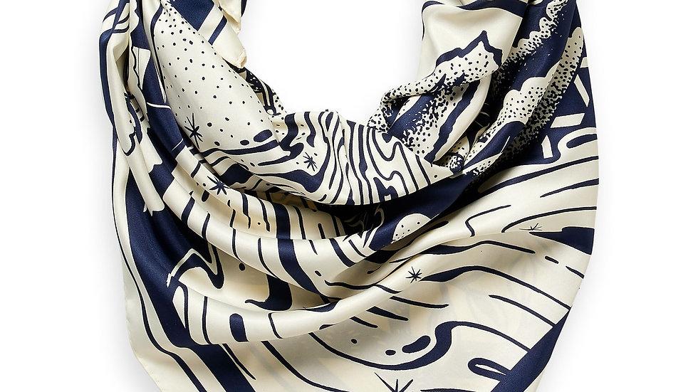 Scotch and Soda artwork scarf
