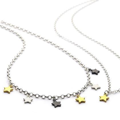 Chambers and Beau Star choker necklace