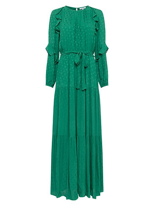 Great Plains Palm Green Maxi Dress