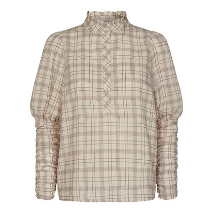 Co'couture Marzipan Rowland Checked Shirt