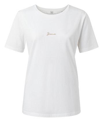 Yaya 'Dreamer' Embroidered T-shirt