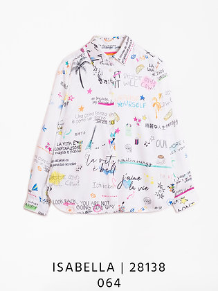 Vilagallo Isebella La Vita Printed Shirt