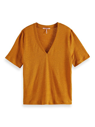 Scotch and soda V-neck T-shirt