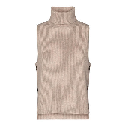 Co'couture Row Button Knit Vest