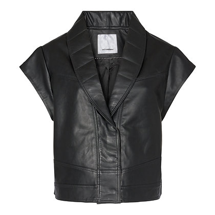 Co'couture Harvie Leather Crop Jacket