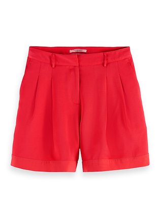 Scotch and Soda Tailored Red Shorts