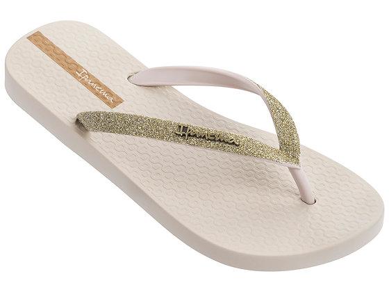 Inpanema Loilta Ivory Glitter flip-flop