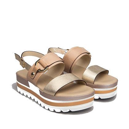 NeroGiardini Flat wedge sandal