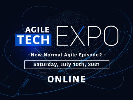 マーケティングもアジャイルに!Agile Tech EXPO に登壇